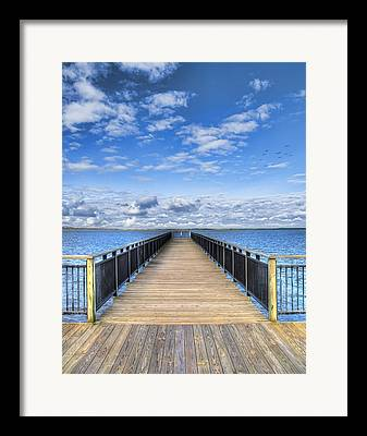 Dock Framed Prints