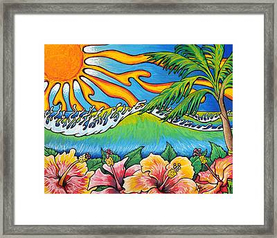 Summer Blooms Framed Print