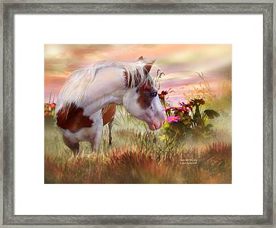 Summer Blooms Framed Print by Carol Cavalaris