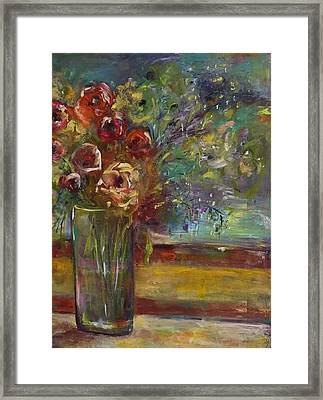 Summer Blooms Framed Print by Gail Butters Cohen