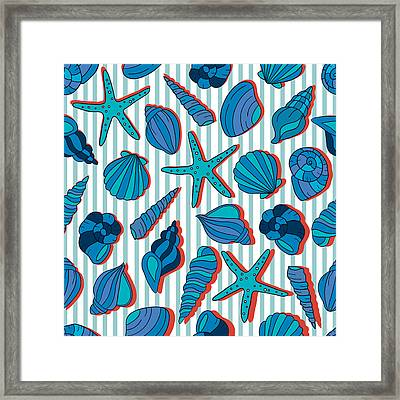 Summer Blue  Framed Print