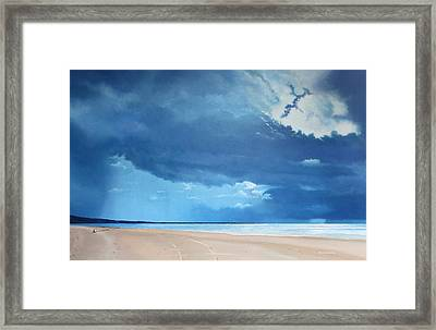 Summer Blues Framed Print by Paul Newcastle