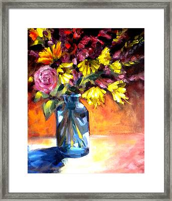 Summer Bouquet Framed Print by Paula Strother