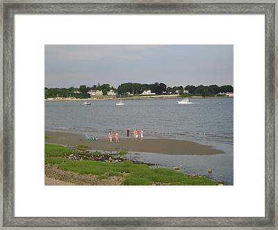 Summer Break Framed Print