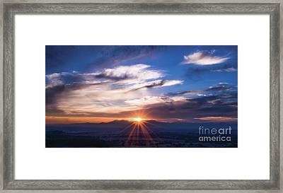 Summer Breeze  Framed Print by Naomi Burgess