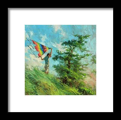 Agrarian Framed Prints