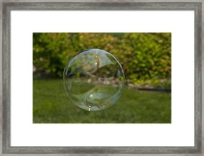 Summer Bubble Framed Print