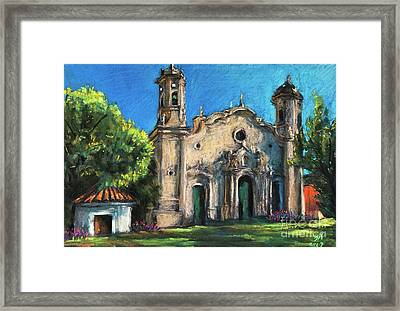 Summer Church Framed Print