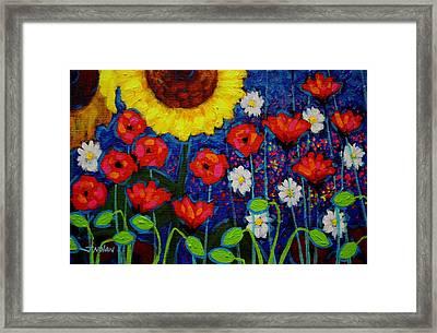 Summer Cluster Framed Print by John  Nolan