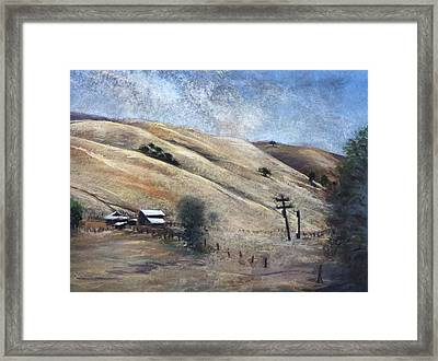 Summer Comes Early Framed Print