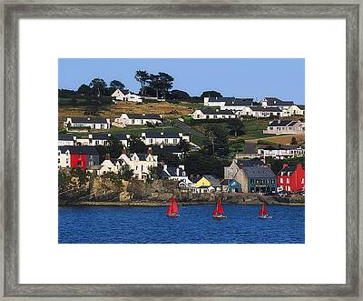Summer Cove, Kinsale, Co Cork, Ireland Framed Print by The Irish Image Collection