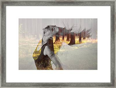 Summer Dance Framed Print by Martin Capek