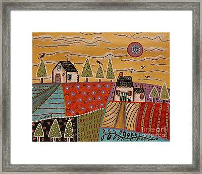 Summer Day 1 Framed Print by Karla Gerard