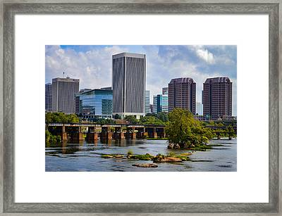 Summer Day In Rva Framed Print