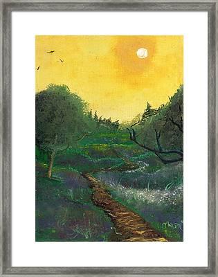 Summer Day Framed Print