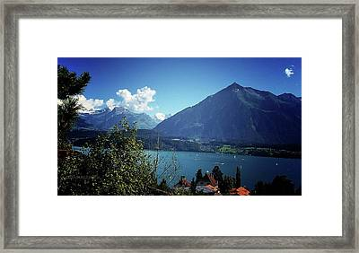 Framed Print featuring the photograph Summer Day by Mimulux patricia no No