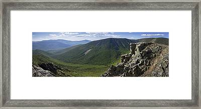 Summer Day On Bondcliff Framed Print