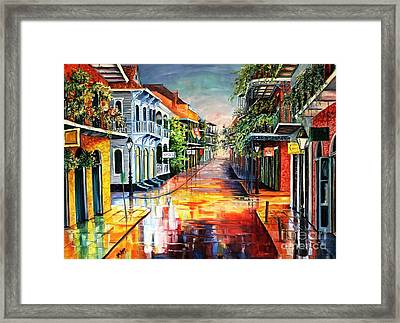 Summer Day On Royal Street Framed Print