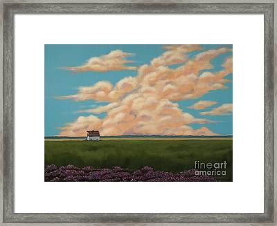 Summer Daydream Framed Print