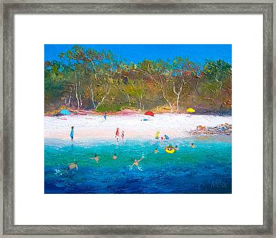 Summer Days Blue Skies Framed Print
