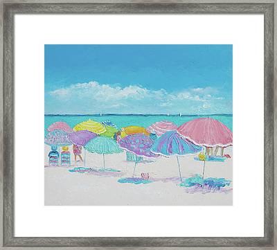 Summer Days Drifting Away Framed Print by Jan Matson