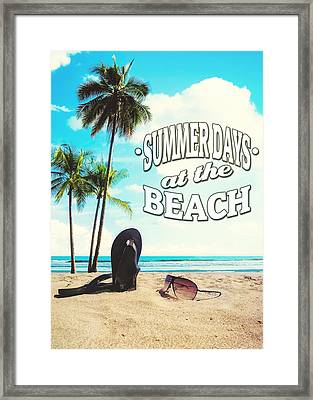 Summer Days Framed Print by Nicklas Gustafsson