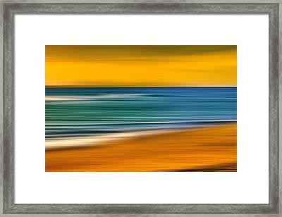Summer Dayz Framed Print