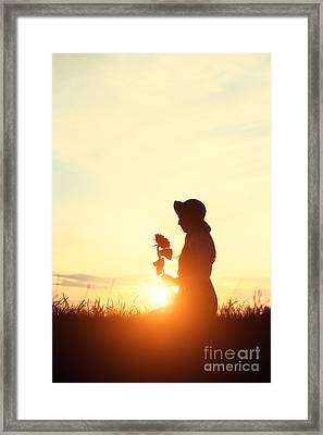 Summer Dayz Framed Print