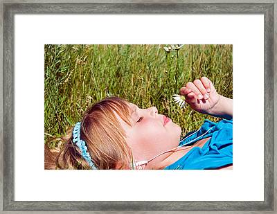 Summer Delight Framed Print by Maria Dryfhout