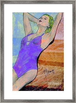 Summer Dreaming Framed Print