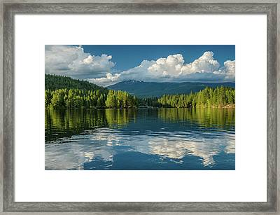 Summer Evening On The Siskiyou Framed Print by Greg Nyquist