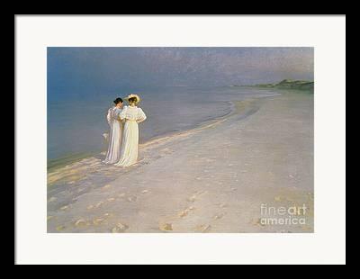 Promenade Framed Prints