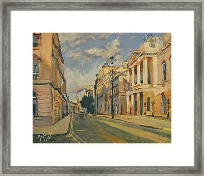Summer Evening Pall Mall London Framed Print