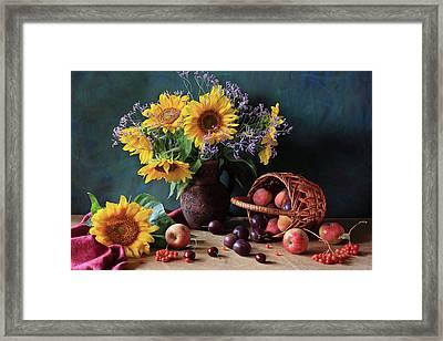 Summer Exuberance Framed Print by Panga Natalie Ukraine