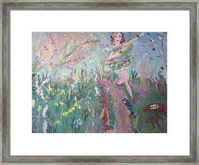 Summer Fairy Framed Print