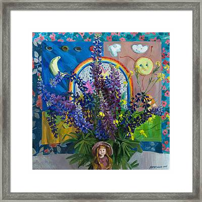 Summer Fairytale Framed Print by Victoria Kharchenko