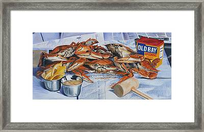 Summer Feast Framed Print