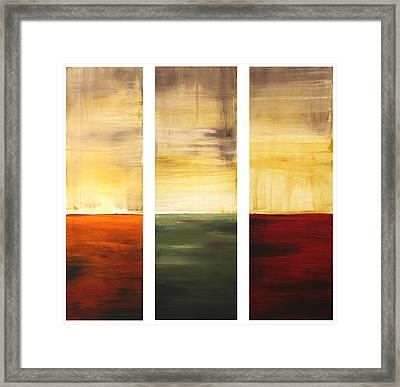 Summer Fields By Madart Framed Print by Megan Duncanson