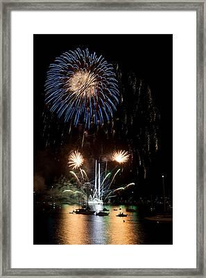 Summer Fireworks I Framed Print by Helen Northcott