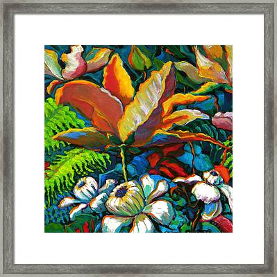 Summer Florals Framed Print