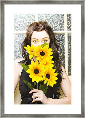 Summer Flowers Framed Print by Jorgo Photography - Wall Art Gallery