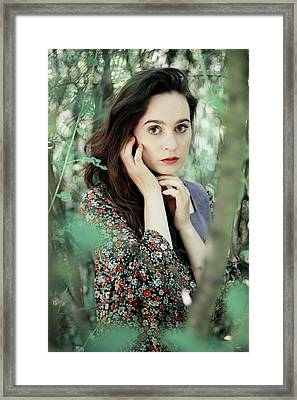 Summer Forest Framed Print by Cambion Art