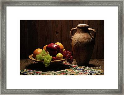 Framed Print featuring the photograph Summer Fruit by Dodie Ulery