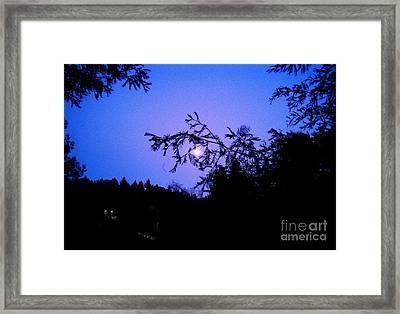 Summer Full Moon Framed Print