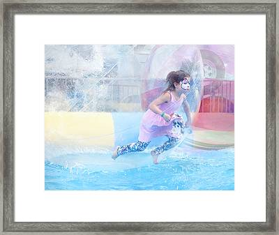 Summer Fun Framed Print by Theresa Tahara