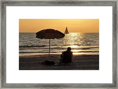 Summer Get Away Framed Print by David Lee Thompson