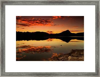 Summer Glow Framed Print by John De Bord