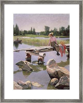 Summer Framed Print by Gunnar Berndtson