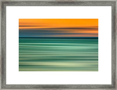 Summer Haze Framed Print