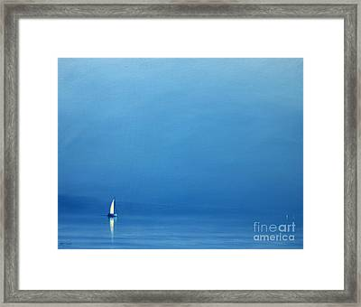 Summer Haze Framed Print by Derek Hare